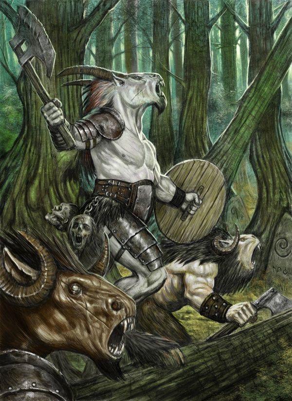 Animal Warriors