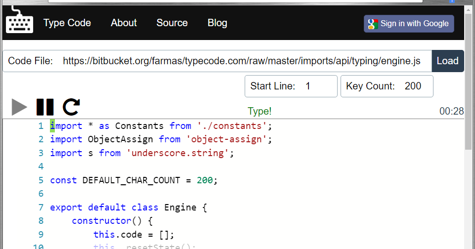 Federico Silva Armas: Building type-code website [Part 8