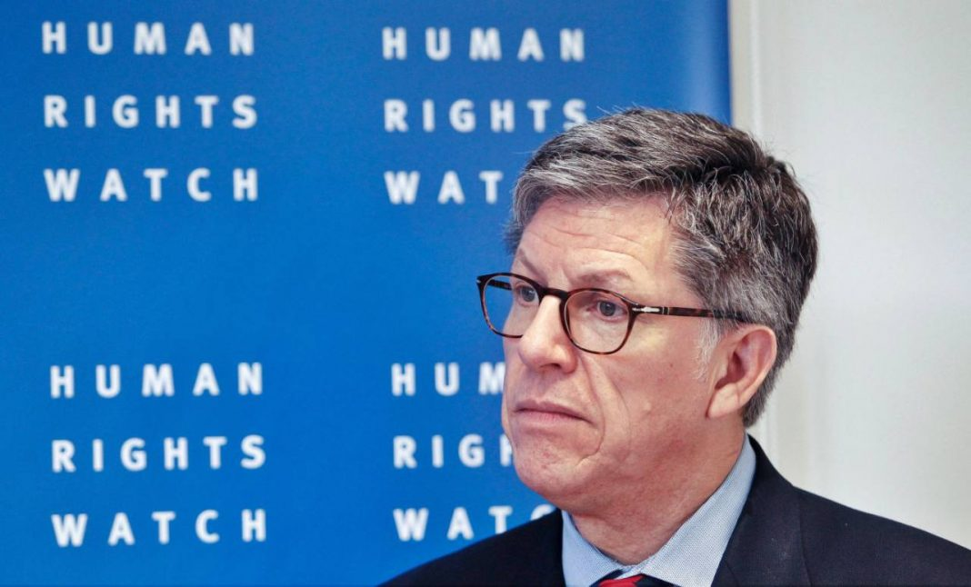 El director de la Human Rights Watch (HRW) para la región, José Miguel Vivanco / ARCHIVO AFP