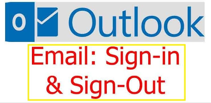 How to sign in to or out of Outlook.com