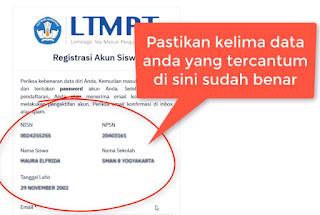 Cara Daftar LTMPT SNMPT 2020 Sebagai Siswa