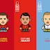 Ludzik; caricaturas de la EURO 2016
