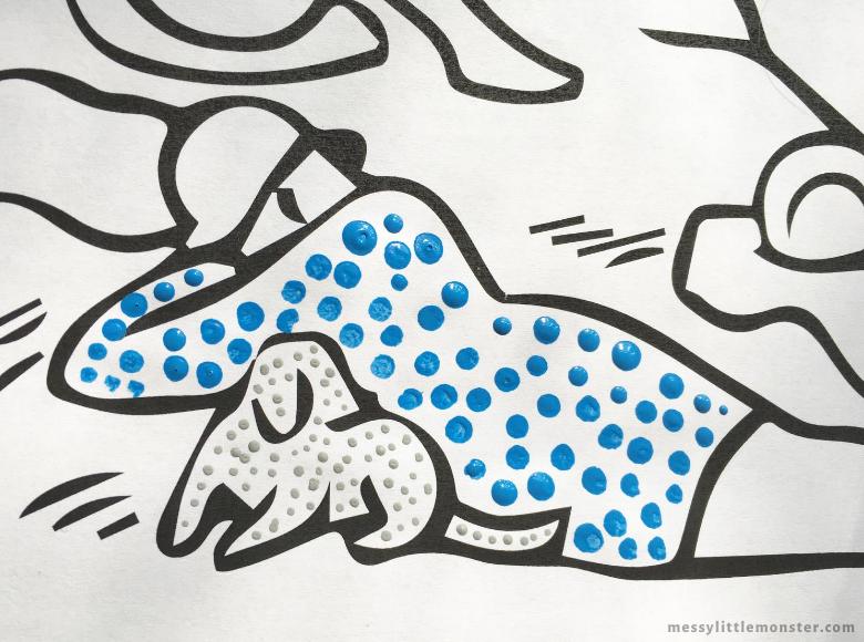 dot art for kids