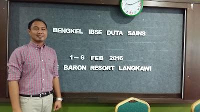 Bengkel IBSE Duta Sains 2016