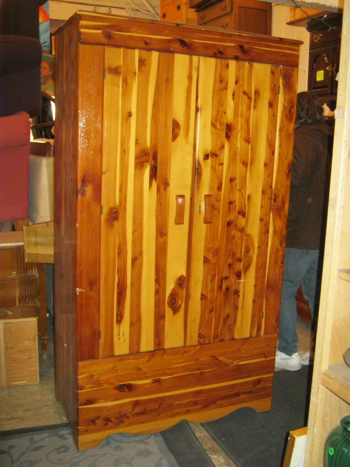 Uhuru Furniture Amp Collectibles Solid Cedar Wardrobe Late