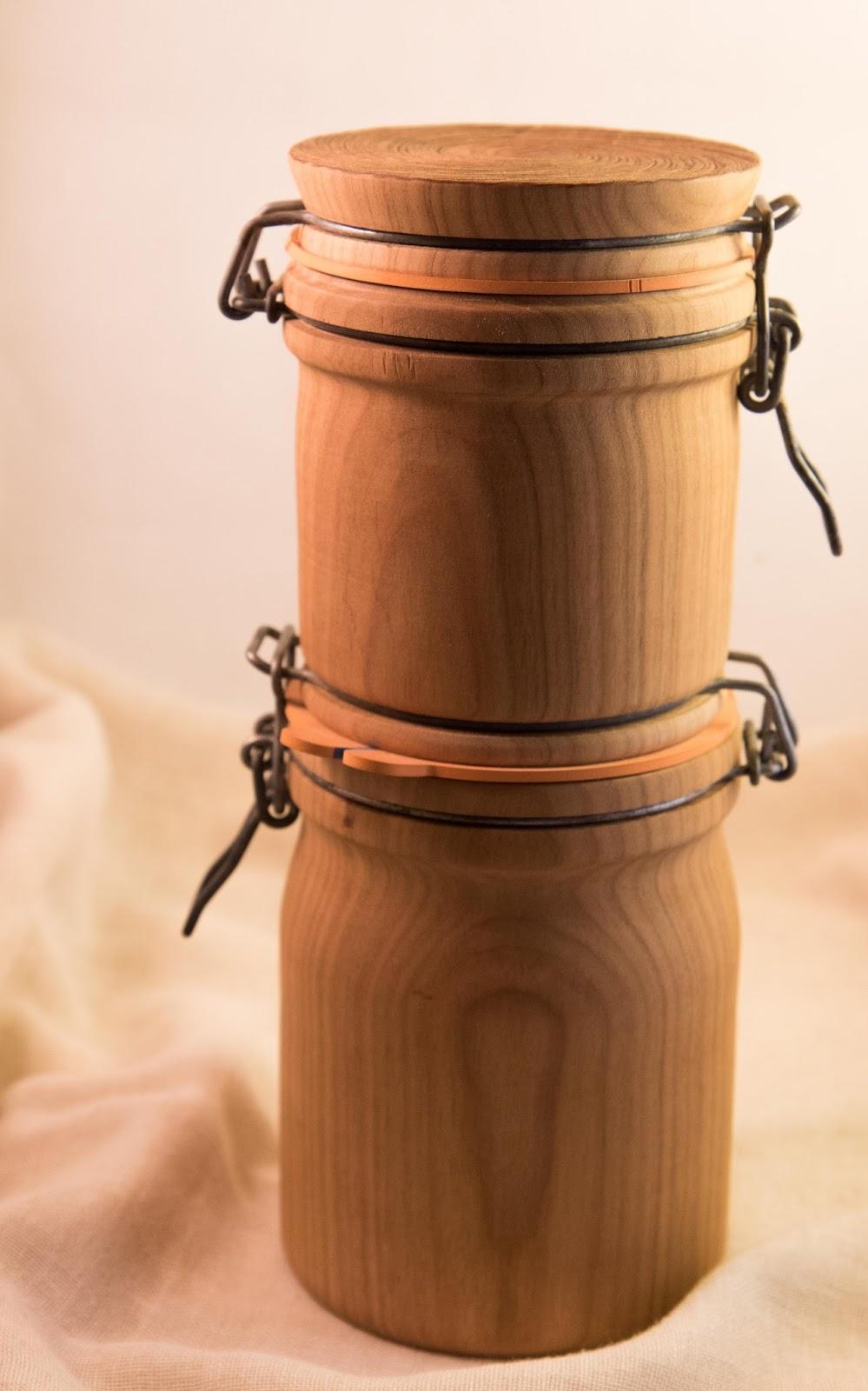 le bois d 39 exa tournage sur bois bocaux en tout genre. Black Bedroom Furniture Sets. Home Design Ideas