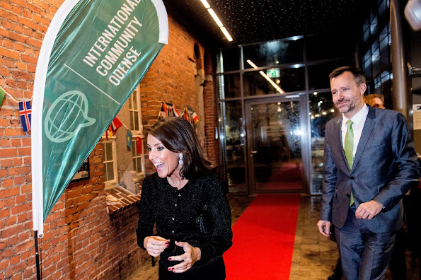 International Community Odense is officially launched by Princess Marie of Denmark and Deputy Mayor Steen Møller. International Community Odense