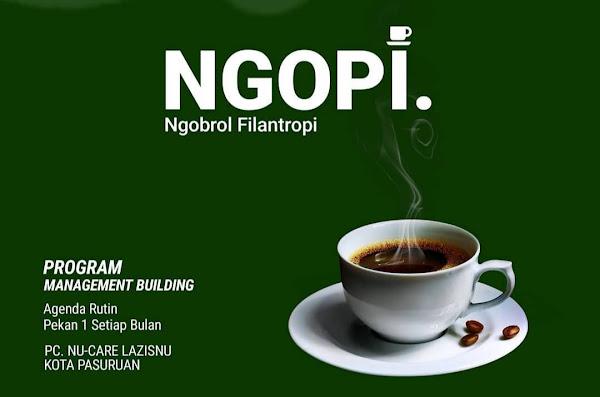Karena dengan NGOPI (Ngobrol Filantropi), kita bisa bersama-sama temukan Solusi