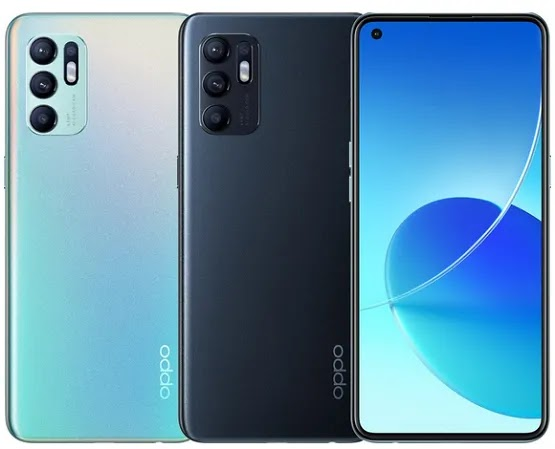 OPPO Launches Reno6 4G With 6.4-inch FHD+ 90Hz AMOLED Display, 4310mAh Battery