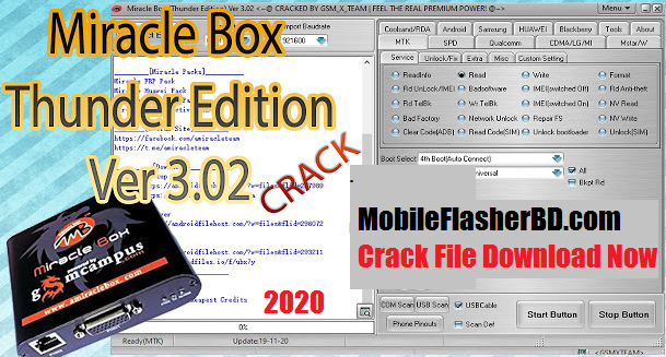 Download Miracle Thunder v3.02 Cracked 2020 XTM Official Fixer Unlock BOX Latest Free For All