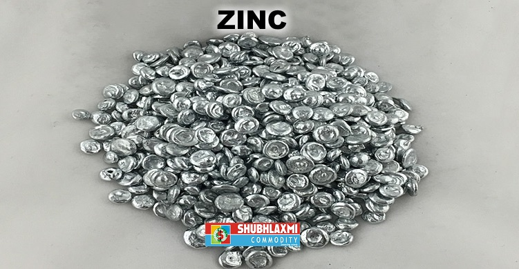 Zinc drifting in the downward sloping channel