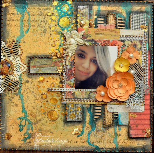 Mixed Media Scrapbook Layout!