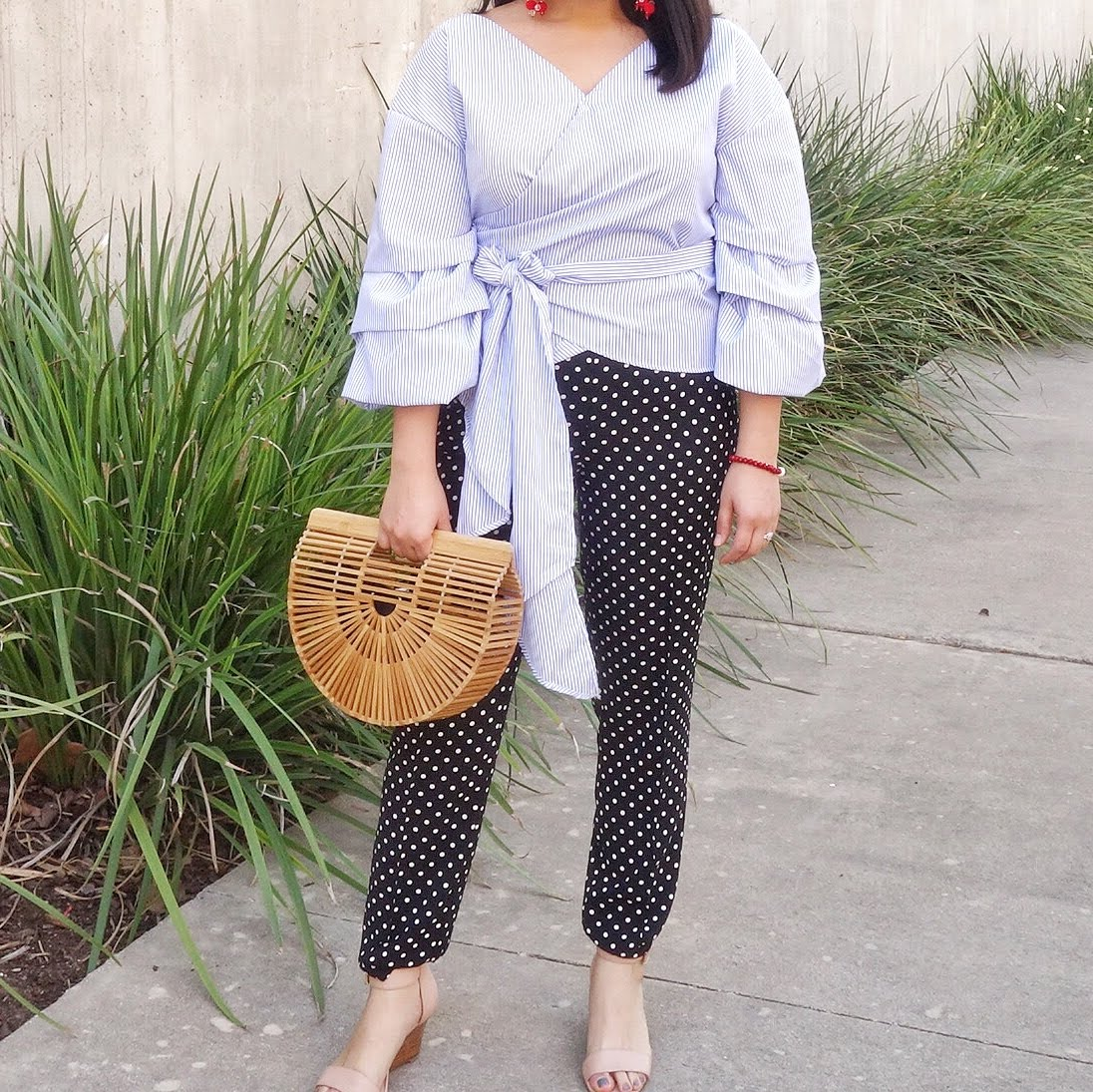 Mix Prints [Polka Dots and Stripes]
