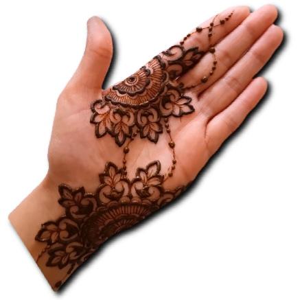 Simple Mehndi Design for Girls