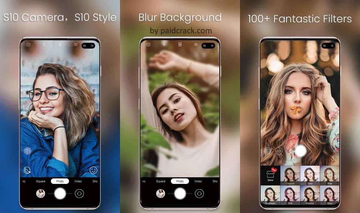One S10 Camera - Galaxy S10 camera style Premium Mod Apk 4.5