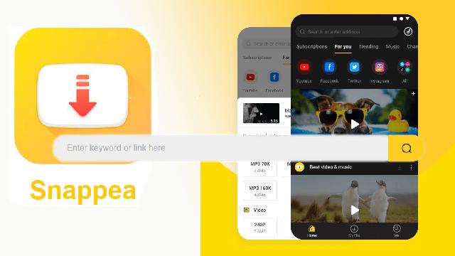 Snappea موقع مجاني لتنزيل الفيديوهات من اليوتيوب