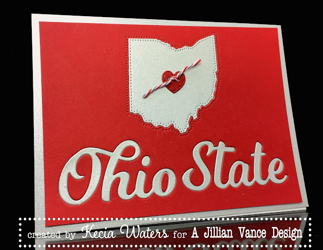 AJVD, Ohio State, Kecia Waters, love, Ohio, Buckeyes, Valentine