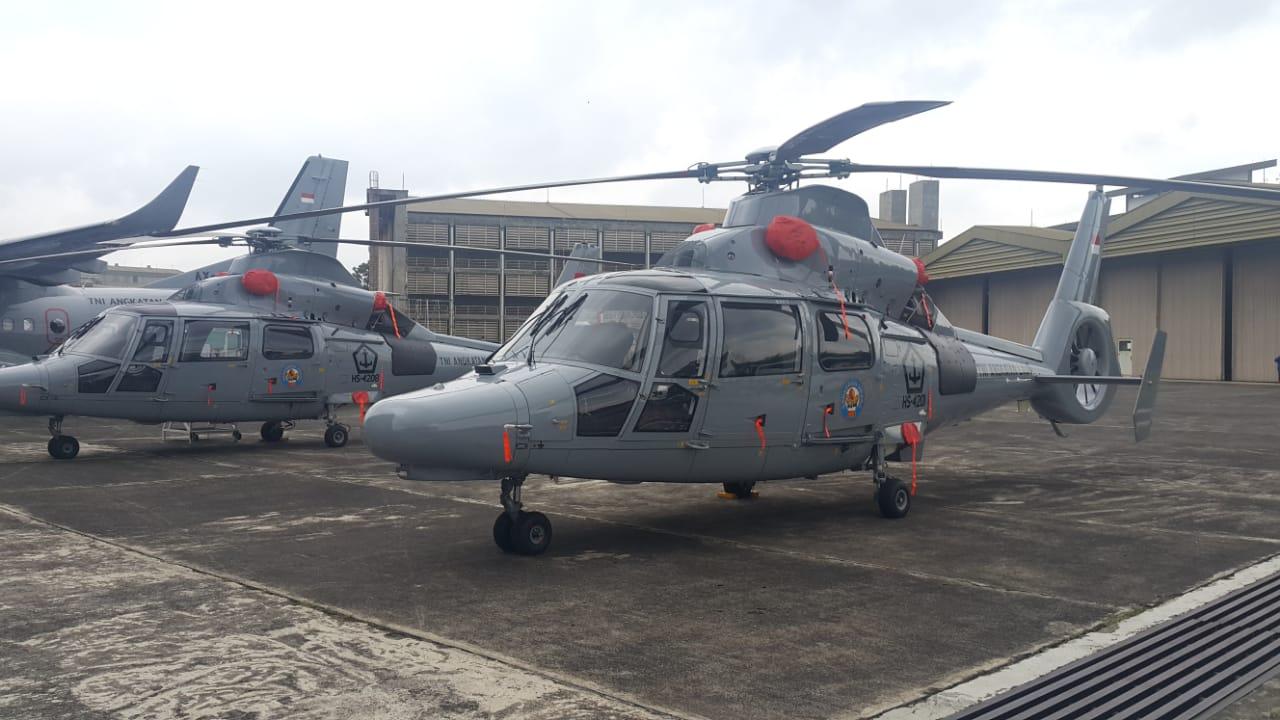 「Indonesian Navy Dauphin AS565 MBe」的圖片搜尋結果