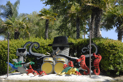 octopus band at legoland
