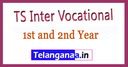 TS Inter (Vocational) 1st and 2nd Year Annual Exam Time Table 2018