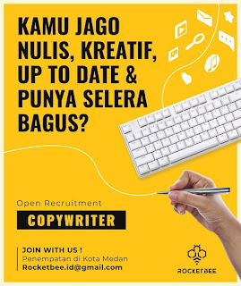 Loker Medan Content Creator Rocket Bee