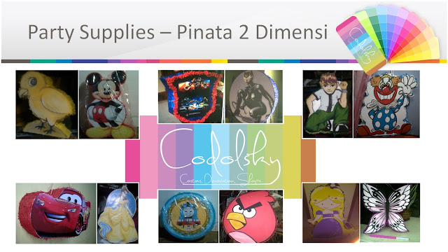 Pinata, EO Ulang Tahun Anak (Kids Birthday Party Organizer), Birthday Party Planner