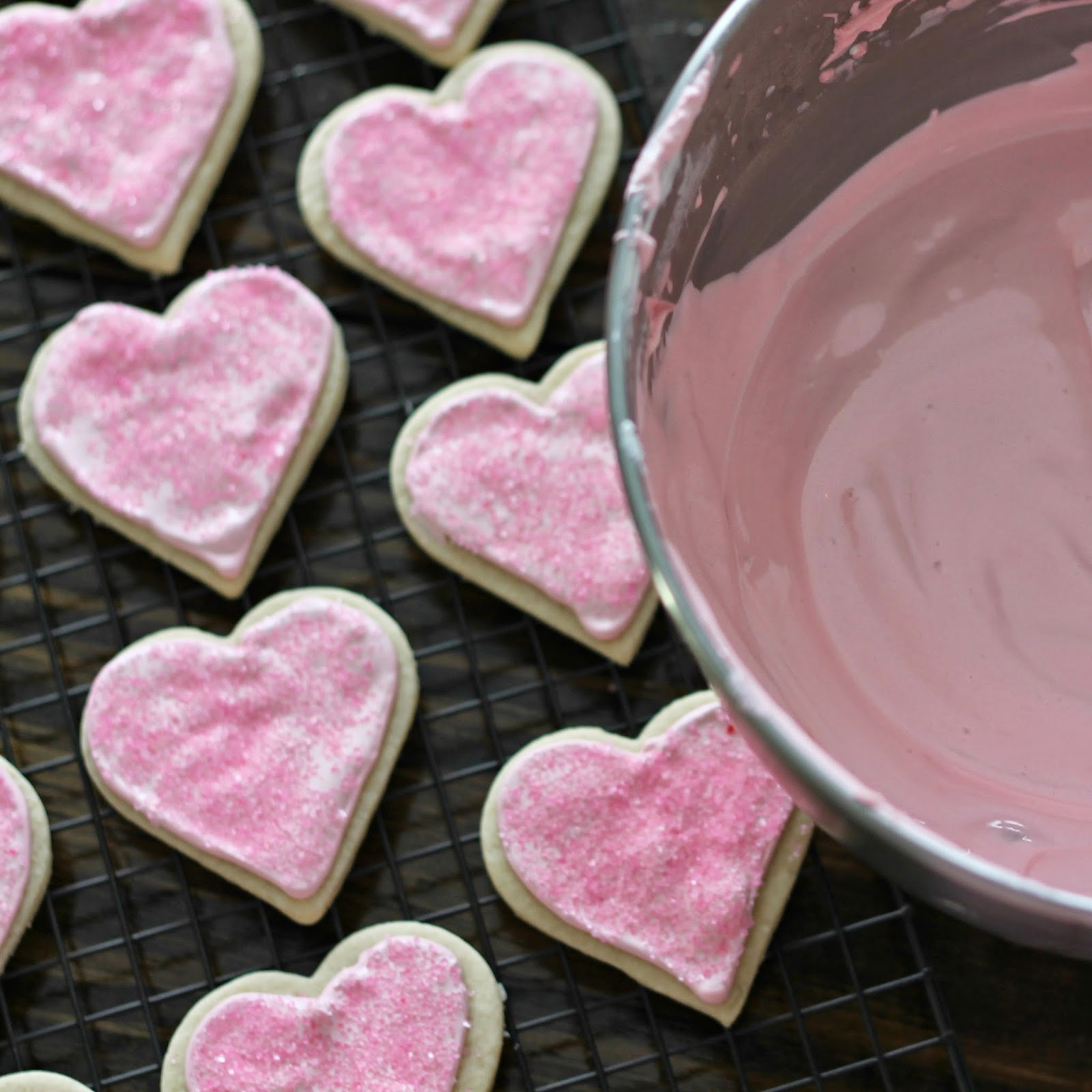 Valentine Cookies {with Royal Icing}