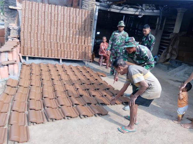 Genteng Mantili dan Garuda Ikut Eksis Dalam TMMD Reg 105 Kodim Klaten
