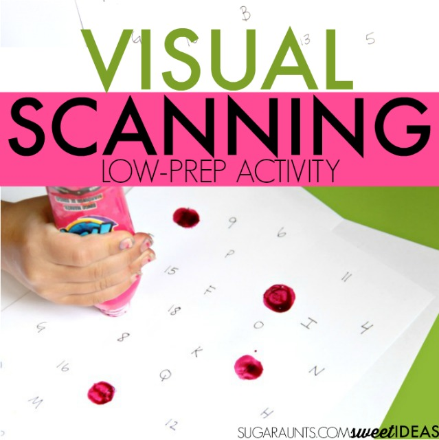 All Worksheets u00bb Visual Scanning Worksheets For Kids ...