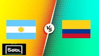 مشاهدة مباراة الأرجنتين وكولمبيا بث مباشركورة جول اليوم 07-07-2021 في كوبا امريكا