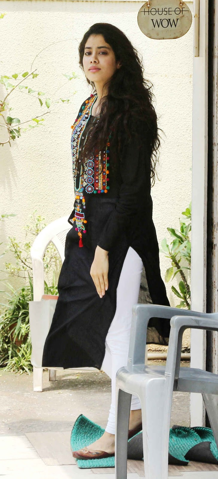 Jhanvi Kapoor at House of Wow Dance Claas In Bandra