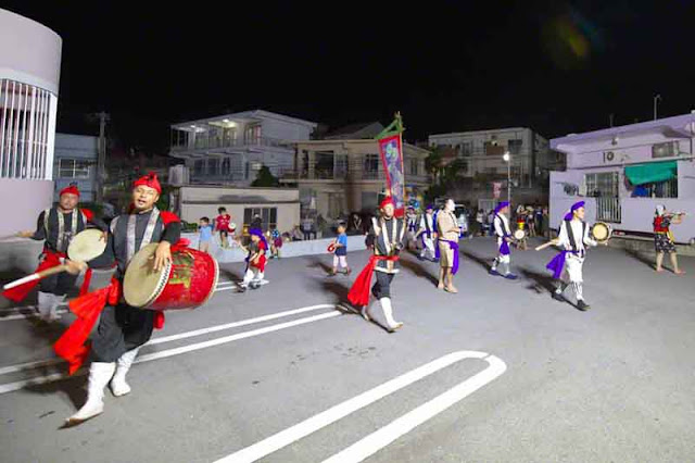 dance, drums, children, Eisa, Obon, Okinawa