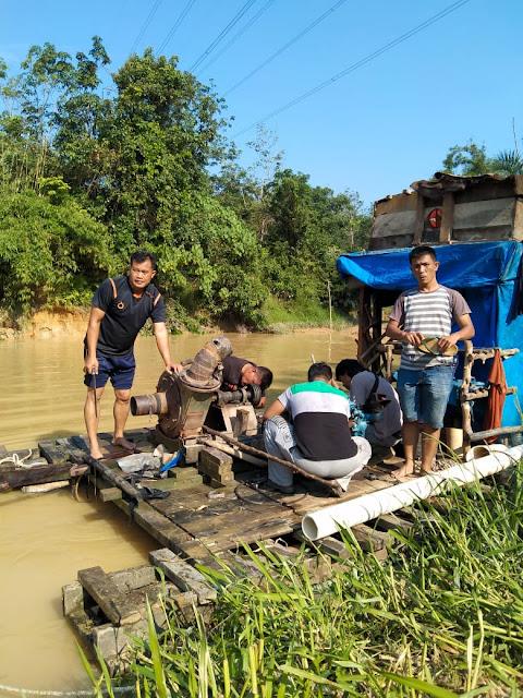 Tiga Penambang Emas Ilegal Ditangkap Polres Dharmasraya