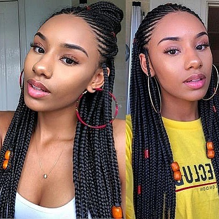 2019 Latest Trendy and Beautiful Braiding Styles