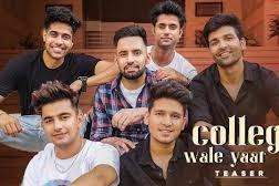 College Wale Yaar | Harf Cheema | lyricsface