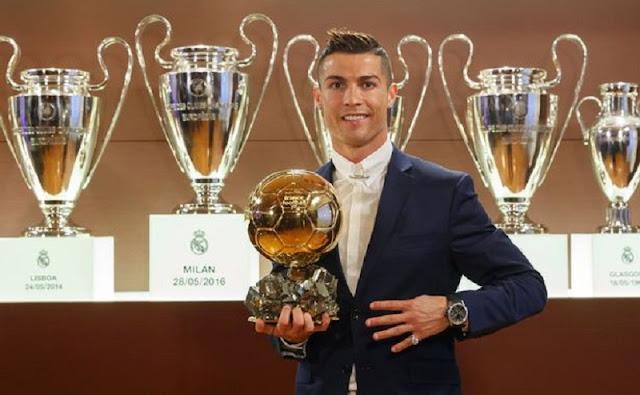 Dua Tahun Beruntun Cristiano Ronaldo Jadi Atlet Berpenghasilan Tertinggi