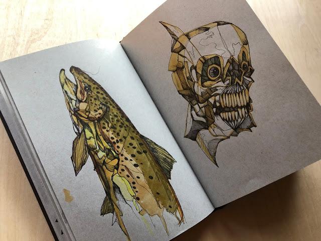 JAKE KEELER ART - A Flip Through the Sketchbooks