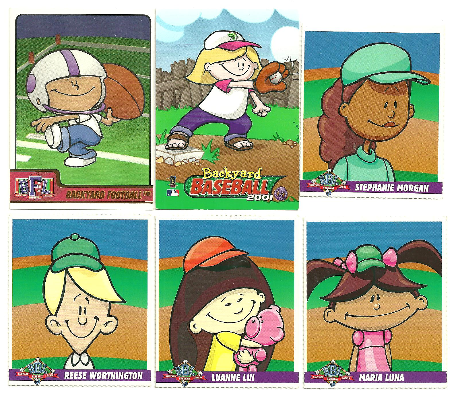 Backyard Baseball Trading Cards