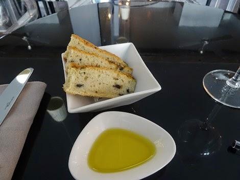 Mise en bouche restaurant Officina Schenatti Paris 5 ème.