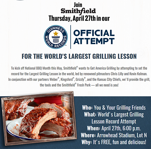 Grilling classes Kansas City Smithfield