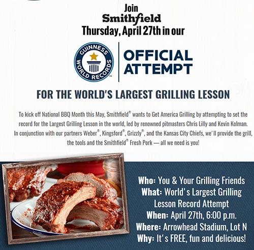 Grilling classes Kansas City Smithfield