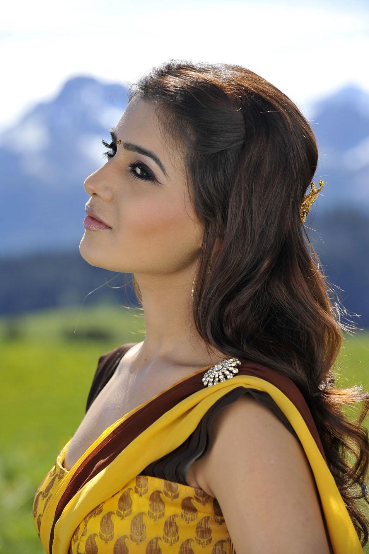 Samantha In Saree: Samantha In Half Saree From Dookudu Spicy Pics