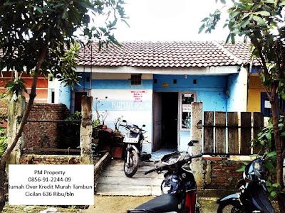 Rumah Murah Over Kredit subsidi Tambun Bumi Sentosa Asri Bekasi