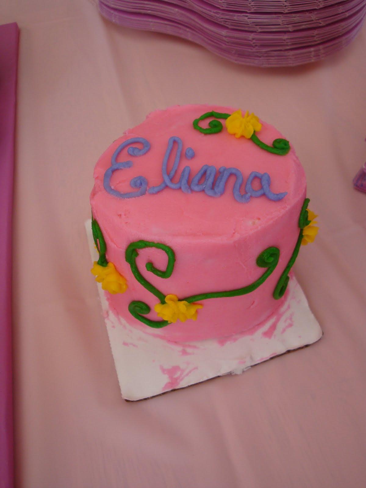 The Jaded Spoon Eliana S Birthday Cake