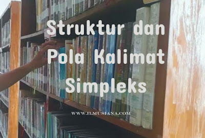 Struktur dan Pola Kalimat Simpleks
