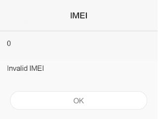 Check IMEI dan Mengatasi IMEI Null