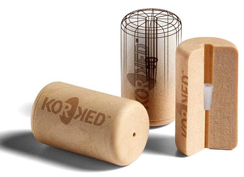 Tapones modernos de silicona con capacidad para que 'respirar' el vino