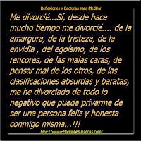 Me divorcié ¿y ahora qué?✅Tras el divorcio sentí gran alivio, eran tantos sentimientos encontrados que no disfrutaba del peso que me había quitado de encima