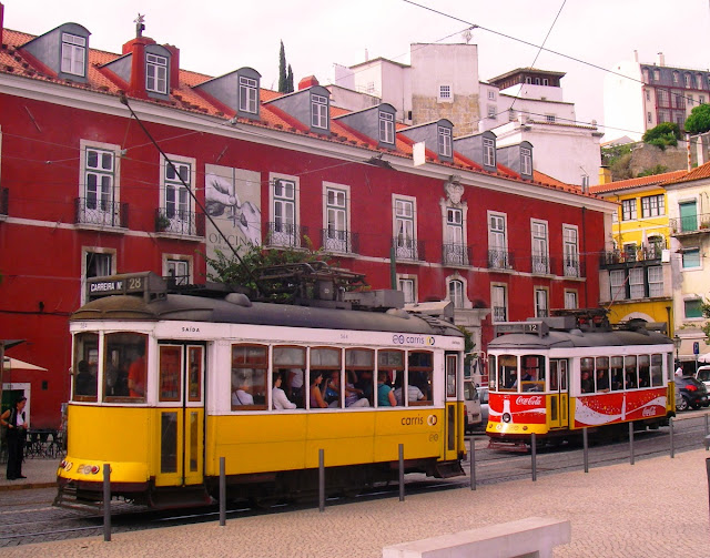 Lissabon - spårvagn
