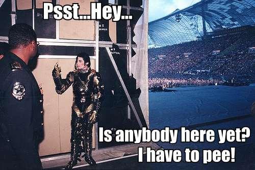 Michael Jackson Pee Meme